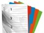 41912 - Przekładki do segregatora A4 kartonowe Warta 4 karty