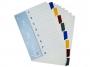 4192455 - przekładki do segregatora A4 kartonowe numeryczne 1-8 Warta 10 kpl./op.