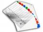4192456 - przekładki do segregatora A4 kartonowe numeryczne 1-12 Warta 10 kpl./op.