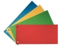 41925 - przekładki do segregatora 1/3 A4 kartonowe Aro mix kolorów, 100 szt./op.