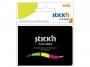 44021076 - zakładki indeksujące samoprzylepne Stick'n 45x12 mm, 5 kolorów neonowych w etui, 5x25 szt.