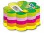 4402135_ - karteczki samoprzylepne Stick'n kształt serce / kwiatek / koło, 64x67 mm, 5 kolorów neonowych, 5x50 kartek