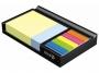44021425 - przybornik na biurko Stick'n karteczki 76x76 mm i 76x25 mm + zakładki 76x25 mm 5x25 szt.