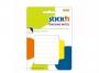 4402148_ - zakładki indeksujące, przekładki samoprzylepne Stick'n 70x70 mm, w linie, 50 kartek