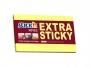 44021674 - karteczki samoprzylepne Stick'n 76x127 mm, Extra Sticky, żółty, 90 kartek