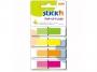 44026017 - zakładki indeksujące samoprzylepne Stick'n w podajniku, 45x12 mm, 4 kolory neonowe, 4x40 szt.