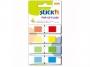 44026020 - zakładki indeksujące samoprzylepne Stick'n w podajniku, 45x12 mm, 4 kolory, 4x40szt