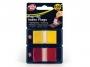 4410100 - zakładki indeksujące samoprzylepne Pukka Pad POP-UP Index Flags, 45x25 mm, transparentne, 2x50 szt.