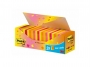 4411602 - karteczki samoprzylepne 3M Post-it 654 76x76 mm, mix kolorów, 21x100 kartek + 3 bloczki GRATIS