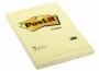 44120 - karteczki samoprzylepne 3M Post-it 662 102x152 mm, żółte w kratkę 100 kartek