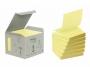 4412585 - karteczki samoprzylepne Zig-Zag ( ZZ ) 3M Post-it R330-1B 76x76 mm, Z-Notes, ekologiczne, żółte, 100 kartek, op. 6 bloczków