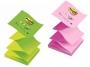 44125_ - karteczki samoprzylepne Zig-Zag ( ZZ ) 3M Post-it R330 76x76 mm, Z-Notes, 100 kartekTowar dostępny do wyczerpania zapasów u producenta!!