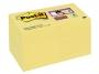 4413300 - karteczki samoprzylepne 3M Post-it 622-12SSCY-EU 51x51 mm, Super Sticky, 12x90 kartek, żółte
