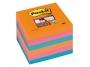 4413310 - karteczki samoprzylepne 3M Post-it 654-6SS-EG 76x76 mm, Super Sticky 6x90 kartek, kolory iskrzące