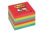 4413311 - karteczki samoprzylepne 3M Post-it 654-6SS-JP 76x76 mm, Super Sticky 6x90 kartek, kolory sercowe