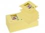 4413317 - karteczki samoprzylepne Zig-Zag ( ZZ ) 3M Post-it R330-12SS-CY 76x76 mm, Z-Notes, 90 kartek, żółte