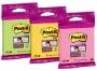 4413331 - karteczki samoprzylepne 3M Post-it 6820-SS 76x76 mm, Super Sticky, mix kolorów, 75 kartek, zawieszka