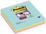 4413335 - karteczki samoprzylepne 3M Post-it 675-SS3-MIA 101x101 mm, Super Sticky, paleta Miami w linie, 3x70 kartek