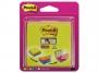 4413339 - karteczki samoprzylepne 3M Post-it 2014-SC-BYFG 76x76 mm, Super Sticky, mix kolorów, 4x75 kartek