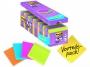 4413340 - karteczki samoprzylepne 3M Post-it 654-SS-VP24COL 76x76 mm, Super Stick, 24x90 kartek