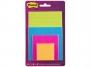 4413344 - karteczki samoprzylepne 3M Post-it 4622-SSEU Super Sticky, mix rozmiarów, 4x45 kartek