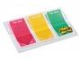 4413360 - zakładki indeksujące samoprzylepne 3M 682-TODO, PP mix kolorów 23,8x43,2 mm, 3x20 szt.
