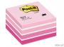 441440 - karteczki samoprzylepne 3M Post-it 2028-P 76x76 mm, kostka akwarela różowa 450 kartek