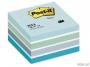 441443 - karteczki samoprzylepne 3M Post-it 2028-B 76x76 mm, kostka akwarela niebieska 450 kartek