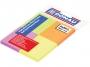 44158151 - karteczki samoprzylepne Donau 38x51 mm, 4 kolory op.4x50 kartek neonowe
