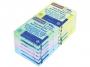 44158153 - karteczki samoprzylepne Donau 76x76 mm, 4 kolory op.12x100 kartek pastelowe