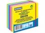 44158154 - karteczki samoprzylepne Donau 76x76 mm, neon, 400 kartek, mix kolorów