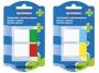 44158182 - zakładki indeksujące samoprzylepne Donau PP, 25x45 mm, 2x20 kartek