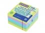 44158202 - karteczki samoprzylepne Donau 76x76 mm, 5 kolorów 450 kartek pastelowe