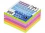 44158203 - karteczki samoprzylepne Donau 76x76 mm, 5 kolorów 400 kartek neonowe