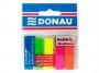 44158501 - zakładki indeksujące samoprzylepne Donau PP, 12x45 mm, 5 kolorów neonowych, 5x25 szt./op.