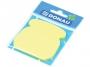 44158903 - karteczki samoprzylepne Donau kształt telefon, żółte, 50 kartek