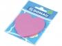 44158904 - karteczki samoprzylepne Donau kształt serce, jasno różowe, 50 kartek