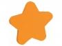 44158905 - karteczki samoprzylepne Donau kształt gwiazdka, pomarańczowe, 50 kartek
