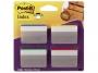 441882 - zakładki indeksujące samoprzylepne 3M Post-it 686-A1 do archiwizacji wygięte 50,8x38 mm 4 kolory x6 szt.