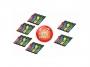441901z - zakładki indeksujące samoprzylepne 3M Post-it 683-4 mix kolorów, 12x43 mm 4x35 kartek + 2 zakładki GRATIS