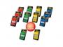 4419023 - zakładki indeksujące samoprzylepne 3M Post-it 680, mix kolorów, 25x43 mm 10x50 zakładek + 2 zakładki GRATIS