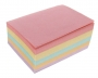 44204 - karteczki kolorowe kostka klejona  9x6,5 cm
