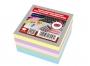 44209 - karteczki kolorowe kostka klejona Interdruk 8,5x8,5x3,5 cm