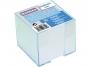 4422601 - karteczki białe kostka nieklejona w pudełku plastikowym Donau 8,3x8,3x7,5 cm