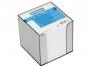 4422605 - karteczki białe kostka nieklejona w pudełku plastikowym Donau 89x89x89 mm,