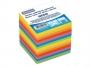4422608 - karteczki kolorowe kostka nieklejona Donau 90x90x90 mm, mix kolorów neonowych