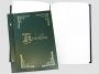 4560664_ - kronika złocona 250x345 mm, pionowa Warta 100 kart