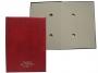 456215_ - teczka do podpisu kartonowa 20 kart Warta twarda z grzbietem krytym