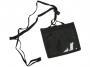 4744651 - etui / kieszeń na karty plastikowe Opus Obadge Holder, 122x110 mm, z zamkiem błyskawicznym, czarna, 10 szt./kpl.