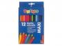 5563012 - kredki ołówkowe Primo CMP Morocolor Maxi, sześciokątne, śr.grafitu 5 mm, długość 18 cm, 12 kolorów w pudełku kartonowym